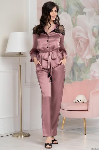 Шелковая пижама Mia-Amore Olivia (70% нат.шелк)