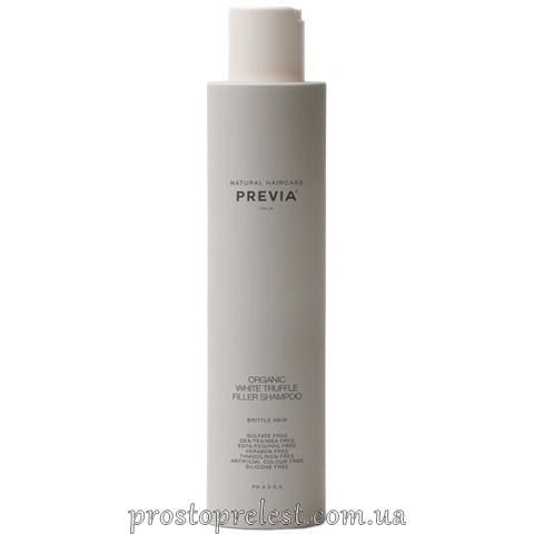Previa White Truffle Filler Shampoo – Шампунь филлер