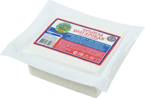 Брынза болгарская рассольная ( вакуумный пакет), 200 гр.