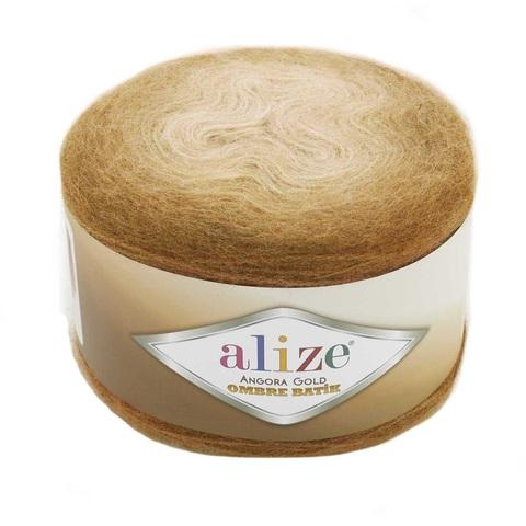 Пряжа Alize Angora Gold Ombre Batik цвет 7356