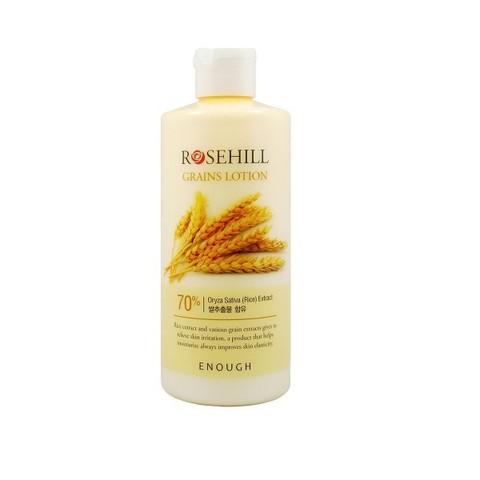 Омолаживающий тонер с рисом и центеллой Enough RoseHill Grains Skin