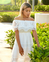 летнее платье в пол недорого