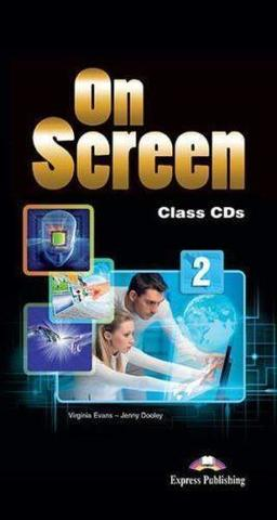 On Screen 2. Class CD's (set of 6) International. Аудио CD для работы в классе