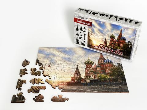 Фигурный пазл «Москва»