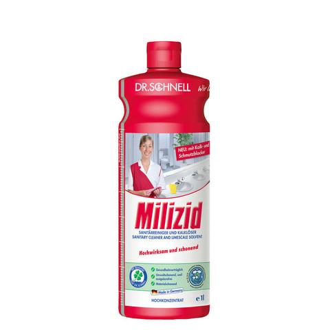 Средство для очистки санитарных зон и удаления минеральных отложений Dr.Schnell Milizid 1 л (концентрат)