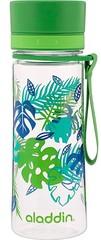Бутылка для воды Aladdin Aveo 0.35L с зеленым узором