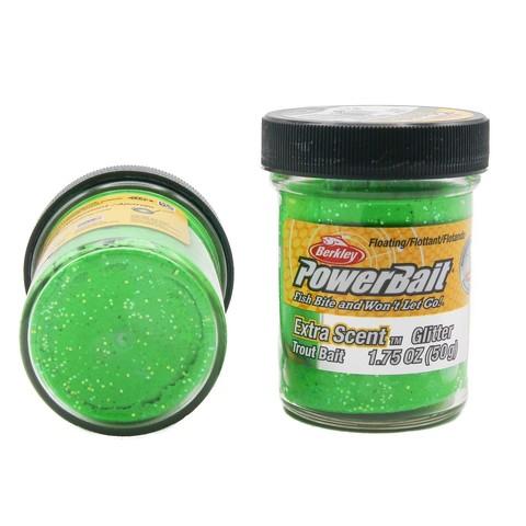 Форелевая паста Berkley - STBGSG (1004943) Extra Scent Glitter цвет зелёный