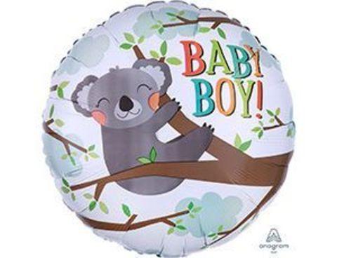 Фольгированный шар BABY BOY коала