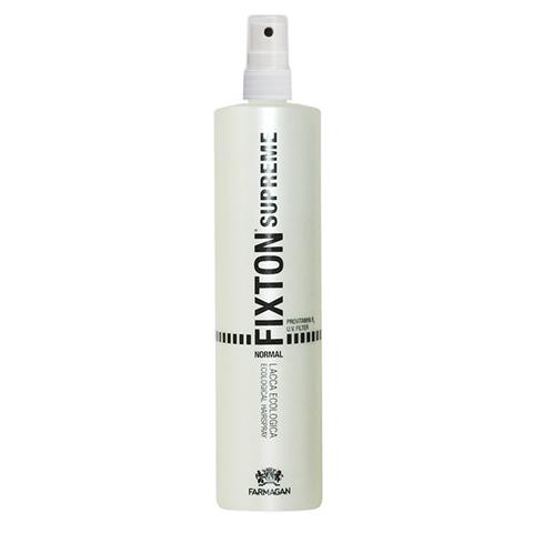 Farmagan Fixton Supreme Styling:  Лак для волос нормальной фиксации без газа (Hair Spray Normal No Gas), 250мл