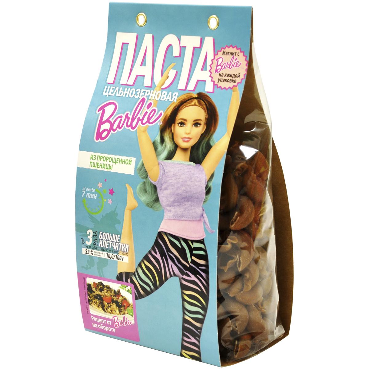 Barbie Макароны Цельнозерновые из Пророщенной Пшеницы 300г.