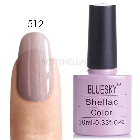 Bluesky Shellac 40501/80501 Гель-лак Bluesky № 40512/80512 Strawberry Smoothie, 10 мл 512.jpg