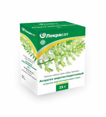 Астрагал шерстистоцветковый (трава) 25 г (Лекрасэт)