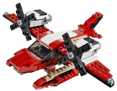 LEGO Creator: Красный мощный автомобиль 31024 — Roaring Power — Лего Креатор Создатель Творец