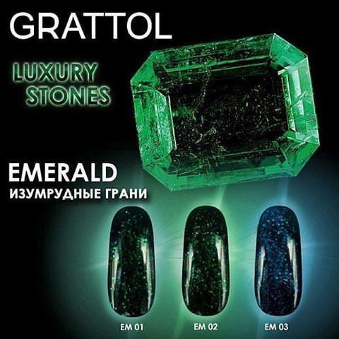Гель-лак GRATTOL Emerald 001 9мл