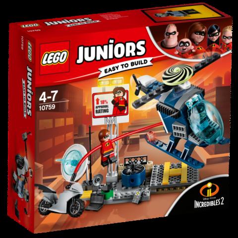 LEGO Juniors: Эластика: Погоня на крыше 10759 — Elastigirl's Rooftop Pursuit — Лего Джуниорс Подростки