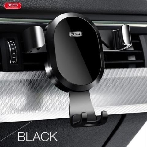 Автодержатель XO WX015 with Wireless Charging 10W (самозажимной) black