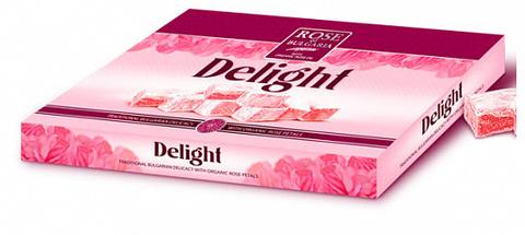 Лукум с розовым маслом и розовой водой, 200 гр.