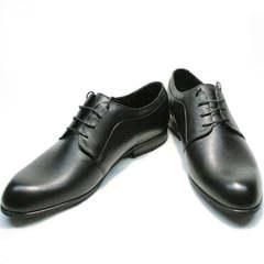 Классические черные туфли мужские Ikoc 060-1 ClassicBlack.