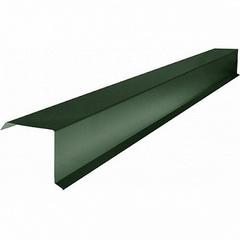 Шинглас Планка торцевая зеленая (2,5м)