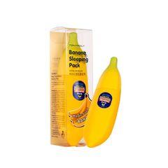 Maska \ Маска \ Mask TONYMOLY Magic Food Banana Sleeping Pack 85ml