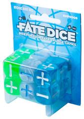 Набор кубиков для Fate System Fate Dice: Atomic Robo Dice