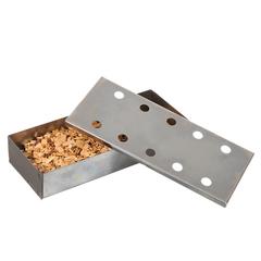 Контейнер для щепы, для копчения в мангалах, грилях, барбекю, 24x10x4,5 см