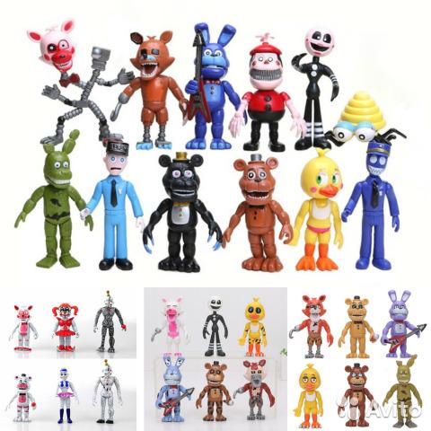 Коллекция персонажей из 5 ночей с Фредди, 30 шт., 12 см