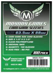 Протекторы для настольных игр Mayday Card Game (63,5x88) - 100 штук