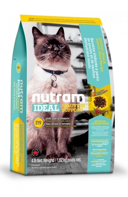 Nutram Ideal Solution Support Sensitive Cat Food I19