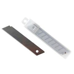 Лезвия сменные для канцелярских ножей 18 мм сегментированные (10 штук в упаковке)