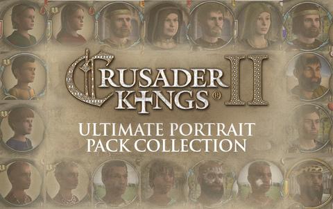 Crusader Kings II: Ultimate Portrait Pack Collection (для ПК, цифровой ключ)