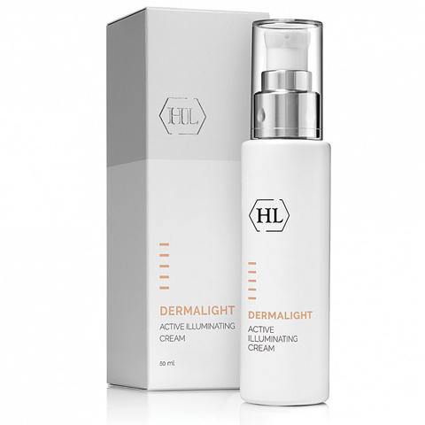 Holy Land Dermalight: Активный осветляющий крем для лица (Active Illuminating Cream)