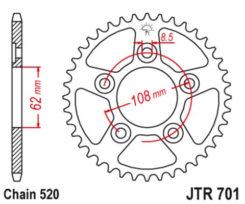 JTR701