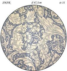 Эскиз для росписи, Круг диаметр-47,5см, SMAR-st-31