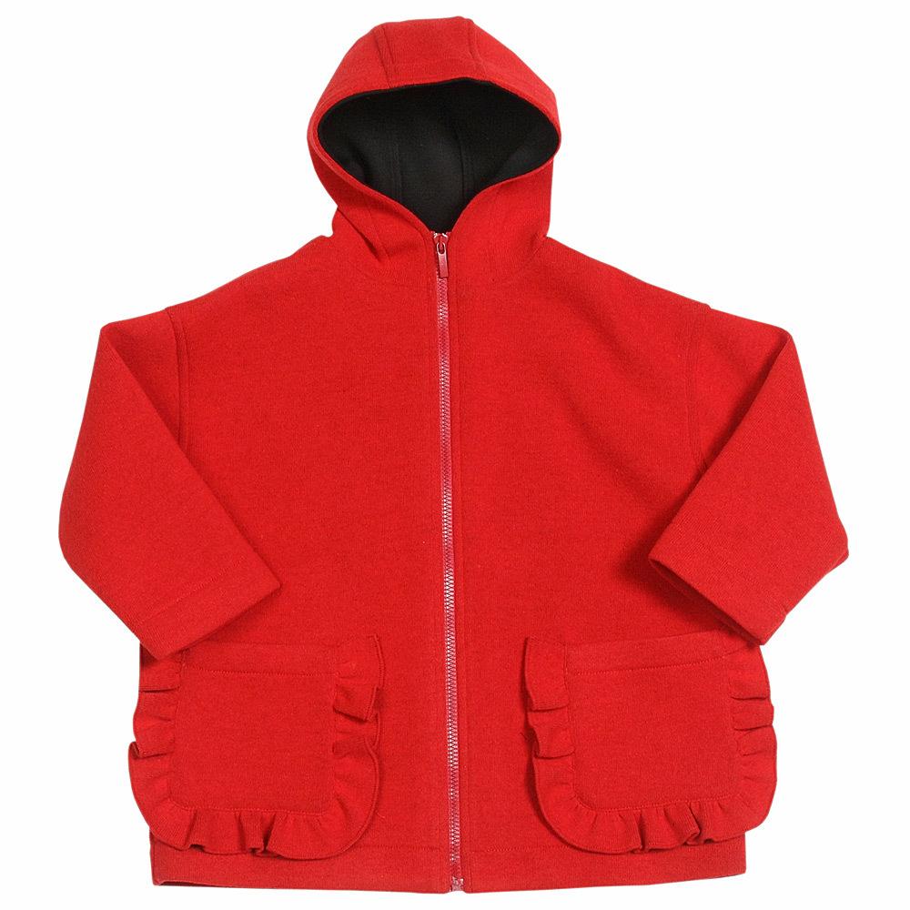 Пальто с капюшоном для девочки Simonetta