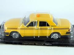 GAZ-3110 Volga Taxi Russia 1:43 DeAgostini Service Vehicle #9