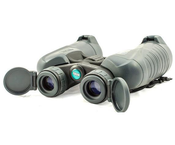 Откидные нетеряемые крышки окуляров Yukon 10x50