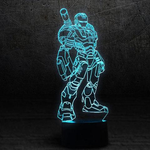 Art-lamps: 3д светильник - Воитель