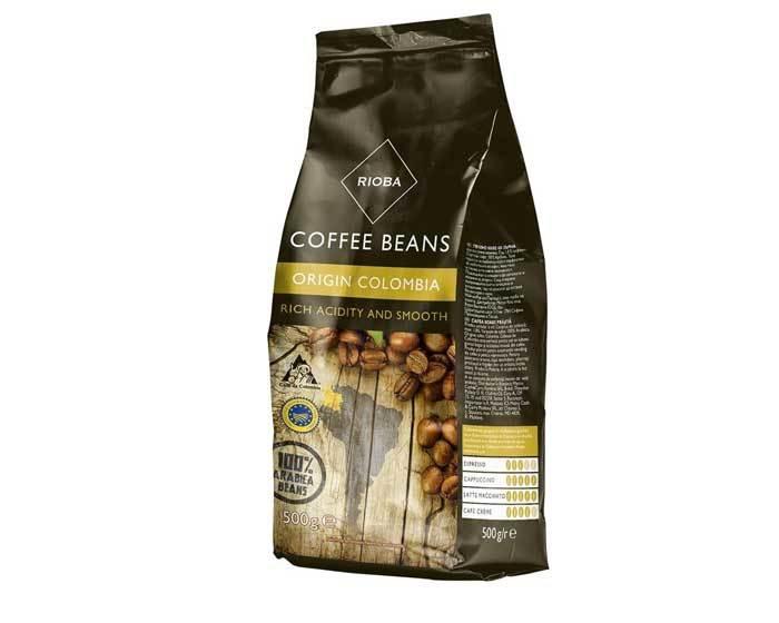 Кофе в зернах Rioba Origin Colombia, 500 г