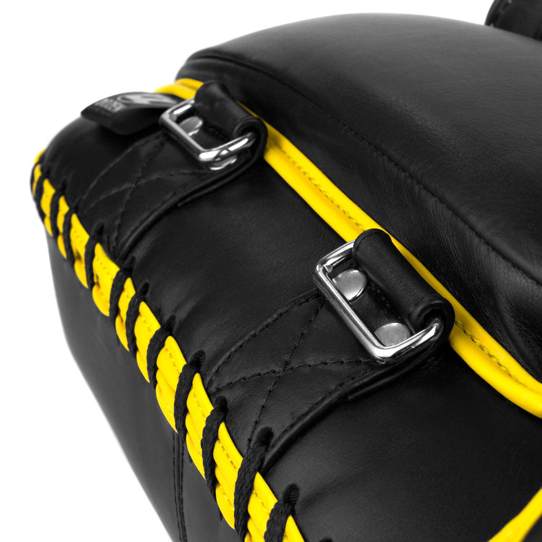 Пады Dozen Monochrome черно-желтые металлические рамки и подушка