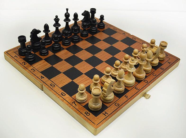 Шахматы Гроссмейстерские Люкс сапеле