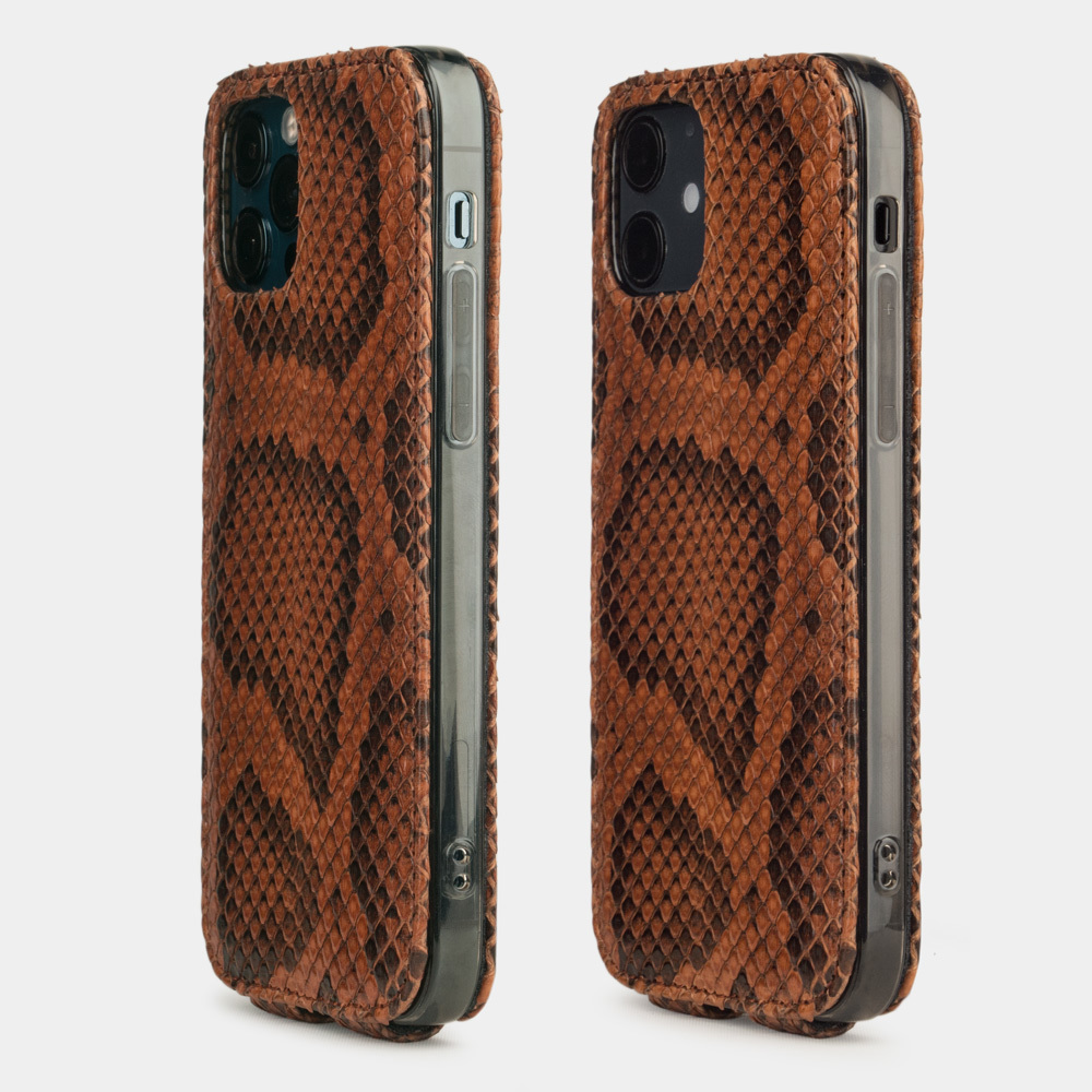 Case for iPhone 12 & 12 Pro - python gold