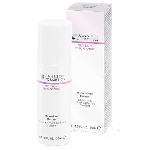 Janssen Oily Skin: Сыворотка с антибактериальным действием для жирной и воспаленной кожи лица (Microsilver Serum)