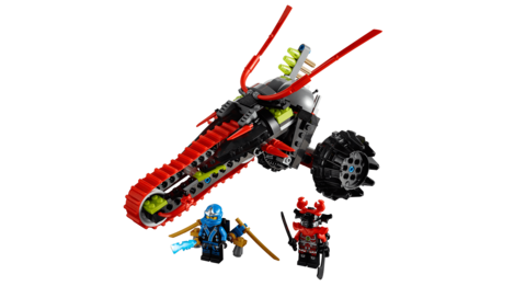 LEGO Ninjago: Воин на мотоцикле 70501 — Warrior Bike — Лего Ниндзяго