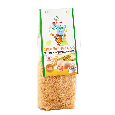 Pasta la Bella BABY Вермишелька яичная