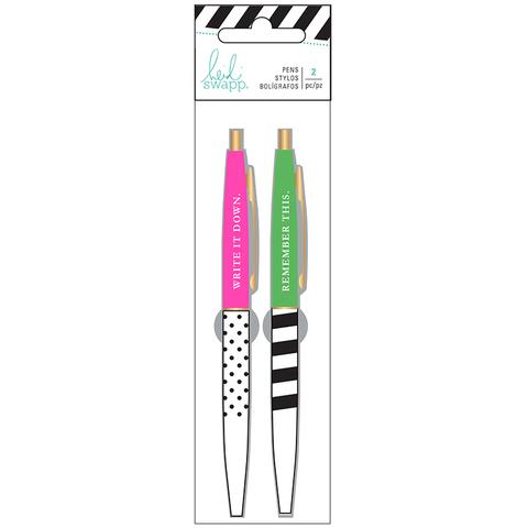 Комплект гелевых ручек Heidi Swapp Memory Planner Gel Pens -2 шт