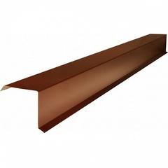 Шинглас Планка торцевая коричневая (2.5м)