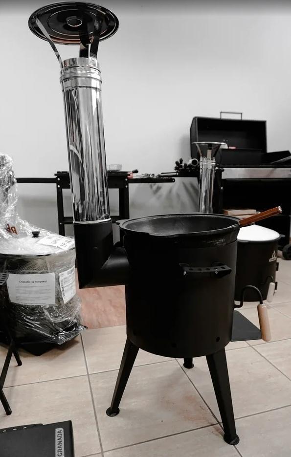 Печи под казан Печь для казана Granada Premium с трубой 22 литра 86eRI68-BZ0.jpg