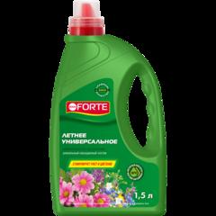 Минеральное удобрение летнее универсальное Bona Forte канистра 1,5л