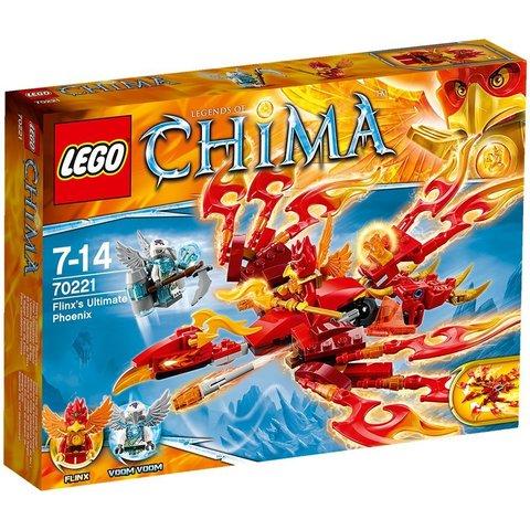 LEGO Chima: Непобедимый феникс Флинкса 70221 — Flinx's Ultimate Phoenix — Лего Чима